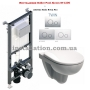 Инсталляция Koller Pool Alcora ST1200+унитаз Kolo Nova Pro M33120000+Кнопка Twin Chrome