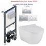 Инсталляция Koller Pool Alcora ST1200 + унитаз Volle Solar Rimless 13-93-363 с крышкой