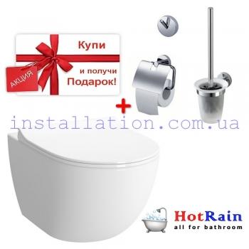Унитаз Koller Pool Round Rimless (RN-0520-RW)+подарок