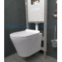 Инсталляция Geberit Duofix 3в1 (458.103.00.1)+унитаз Koller Pool Orion Rimless (OR-0515-RW) сидение Soft-close