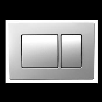 Кнопка смыва Koller Pool Kvadro Matt Chrome