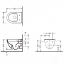 Инсталляция AlcaPlast AM101/1120+унитаз Koller Pool Round ARC Rimless (RA0520RW)