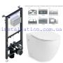 Инсталляция + унитаз: Koller Pool Alcora ST1200 + Volle Amadeus Rimless 13-06R-055