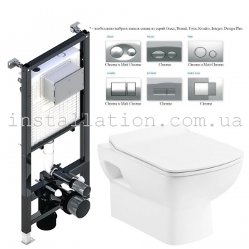 Инсталляция Koller Pool Alcora ST1200 + унитаз Devit Comfort NEW 3120123