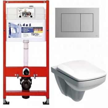 Унитаз+Инсталляция Tece 9.400.012 WC + Kolo Nova Pro Rimfree (M39018000)