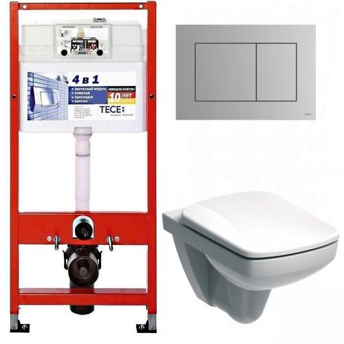 Инсталляция Tece 9.400.012 WC + унитаз Kolo Nova Pro Rimfree (M39018000) + сиденье-крышка