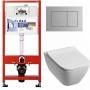 Инсталляция Tece 9.400.012 WC + унитаз Kolo Modo Pure Rimfree L33123000+ сиденье-крышка