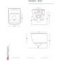 Унитаз подвесной ArtCeram A16 (ASV003 03; 00)+сиденье soft close (ASA001 03)