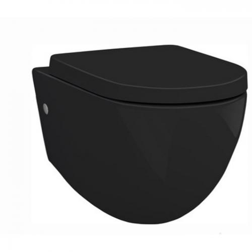 Унитаз подвесной Artceram File 2.0 black (FLV001 03; 00)+сиденье soft close