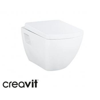 Унитаз Creavit Tetra + крышка (TP326.00100+KC3181.00)