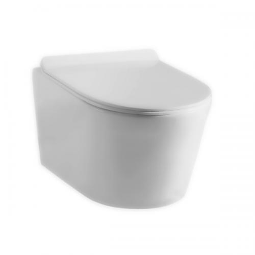 Унитаз подвесной Devit Project 2.0 3220147 Clean Pro безободковый, soft-close