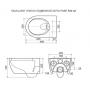 Унитаз Excellent подвесной безободковый Doto Pure Rim з сидением Soft Close (CEAX.1404.485.WH)
