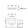 Инсталляция Geberit Duofix 458.103.00.1 + унитаз Geberit iCon (500.784.01.1)+ крышка SoftClose