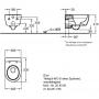 Подвесной унитаз Geberit iCon 204060000 +сиденьем с крышкой