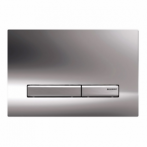 Смывная клавиша Geberit Sigma50 115.788.21.2, латунь глянцевый хром