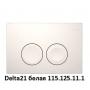 Инсталляция для унитазов Geberit Duofix Delta 458.168.11.1 с кнопкой белой