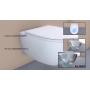Унитаз подвесной безободковый Globo 4all Senzabrida (MDS03BI)+сиденье с крышкой