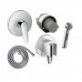Гигиенический душ+смеситель Hansgrohe 71068111