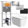 Инсталляция с унитазом: Imprese 3в1 (i5220)+ Devit 3020125 COUNTRY 2.0  с сиденьем