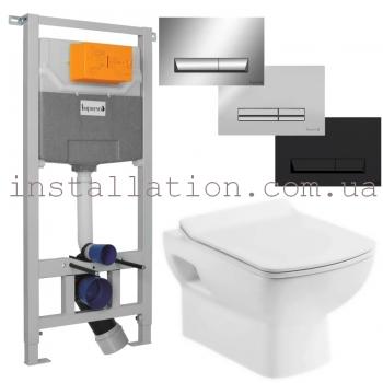 Инсталляция Imprese 3в1 (i5220)+ унитаз Devit Comfort 3120123