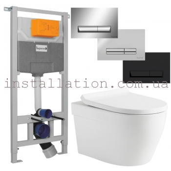 Инсталляция Imprese 3в1 (i5220)+ унитаз Devit Laguna (3020110)