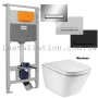 Инсталляция с унитазом, Imprese i9109 + Roca GAP Rimless A34H47C000