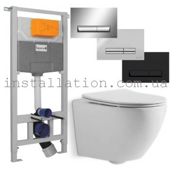 Инсталляция Imprese 3в1 (i5220)+ унитаз Devit Universal (3020162)