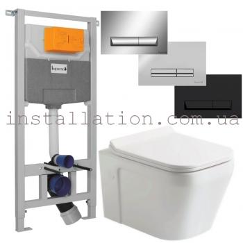 Инсталляция Imprese 3в1 (i5220)+ унитаз Devit UP Clean Pro 3020120