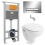 Инсталляция с унитазом: Imprese (i8120) + Volle Maro 13-52-321