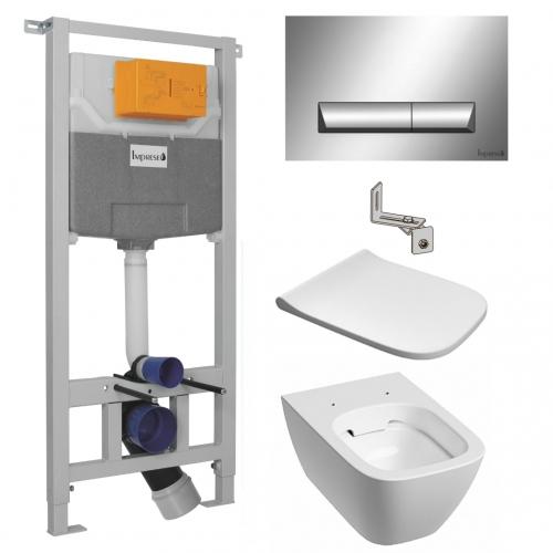 Инсталляция + унитаз: Imprese (i8120) + Kolo Modo Pure L33123000