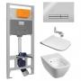 Инсталляция + унитаз: Imprese (i9120) + Kolo Modo Pure L33123000