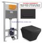 Инсталляция с унитазом: Imprese i5220 + Volle Teo 13-88-422 Black