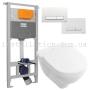 Инсталляция с унитазом: Imprese 3в1 i5220 + Villeroy&Boch O.novo 5660HR01