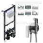 Инсталляция для унитаза Koller Pool Alcora ST1200 + Смеситель с гигиеническим душем Imprese Loket (VR30230B-BT)