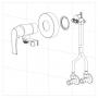 Гигиенический комплект Imprese Loket (VR30230B-BT)