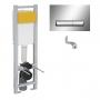 Система инсталляции Imprese i8130 с кнопкой (узкая)