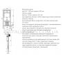 Инсталляции с унитазом:  Primera 16.65.90+Kolo Nova Pro Rimfree (M39018000)