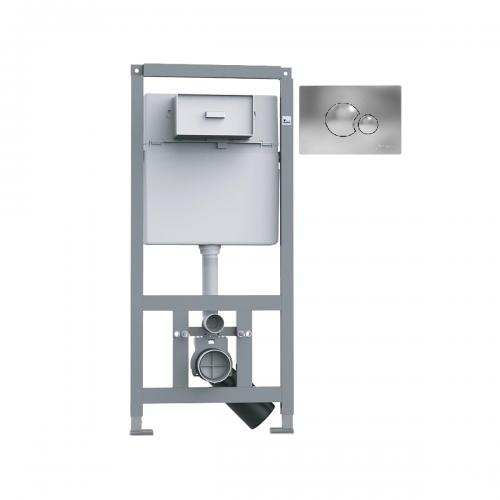 Система инсталляции Primera 16.65.90 Комплект 4в1, клавиша хром