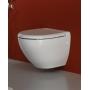 Унитаз подвесной Rak Ceramics Tonique rimless TQ13AWHA+ Крышка Reserva YFG067C, Soft Close