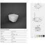 Унитаз подвесной Rak Ceramics Feeling Rimless RST23500A+ Крышка SLIM, Soft Close (черный матовый)