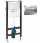 Система инсталляции Schwab XS 189 Basic (667798) + панель смыва Eris