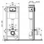 Инсталяция Q-tap Nest M425-M11SAT с накладной панелью