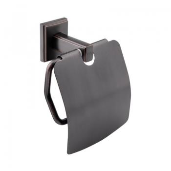 Держатель для туалетной бумаги с крышкой GF (BLB)/S-2603