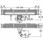 Душевой лоток Viega Advantix Wall drain Vario 736552