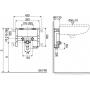 Инсталляция для раковины Valsir Fix (825401)