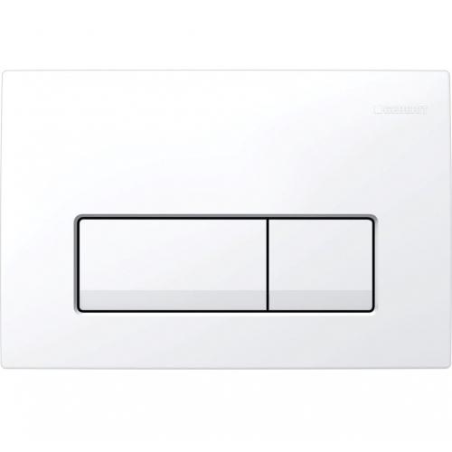 Клавиша смыва Geberit Delta 51 115.105.21.1, цвет белый