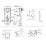 Инсталляция с Унитазом: Grohe Rapid SL 38721001 + Villeroy&Boch Omnia Architectura 5684H101+ сидение