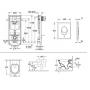 Инсталляция с Унитазом: Grohe Rapid SL 38721001 + Villeroy & Boch Omnia Architectura 5684HR01