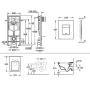 Инсталляция с Унитазом: Grohe Rapid SL 38721001 + Villeroy & Boch Omnia Architectura 5685H101 + сидение