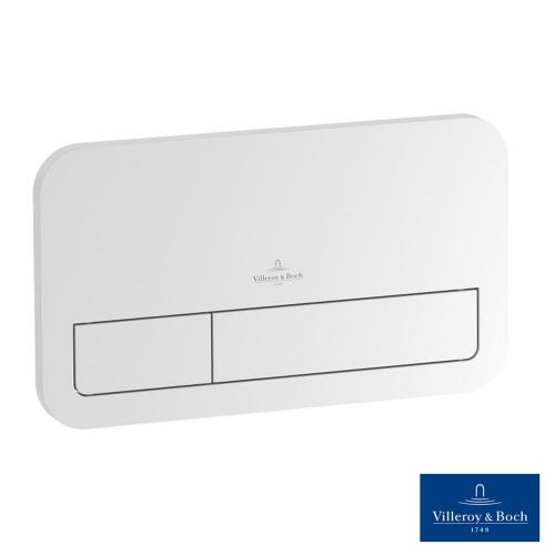 Кнопка смыва Villeroy & Boch ViConnect Е200 92249068, белый